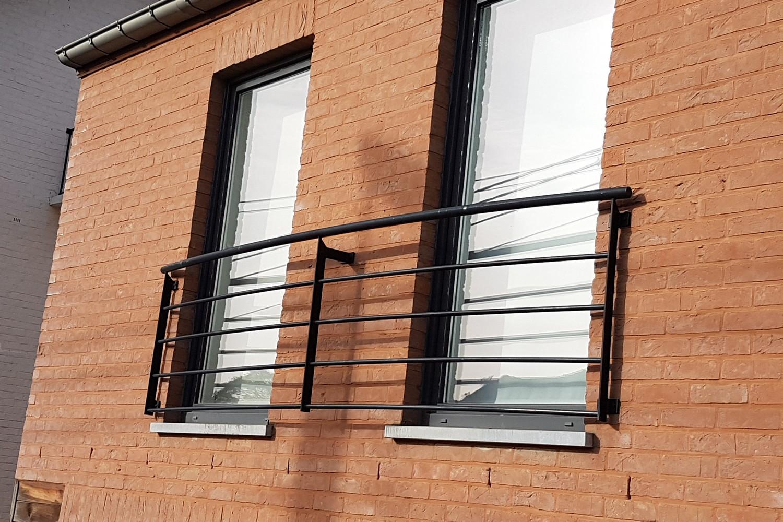 garde-corps fenêtre en fer