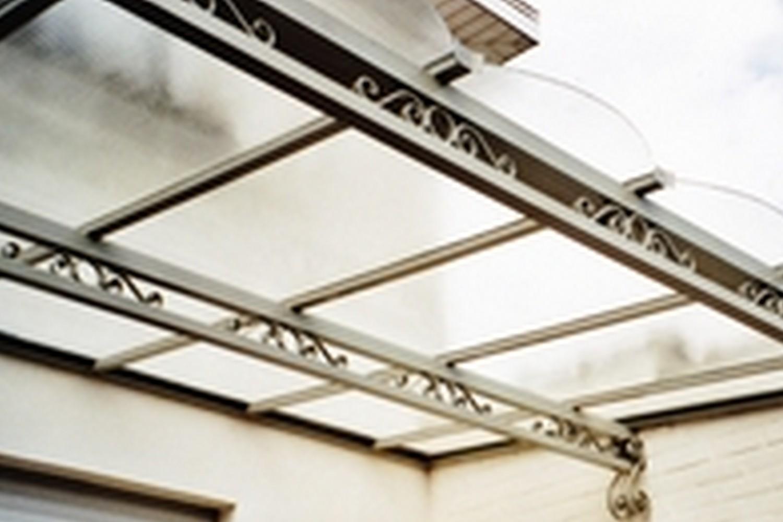 structure métallique extérieur, pergola